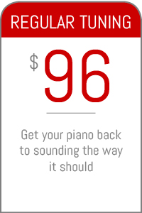 Piano tuning for only $90!